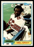1981 Topps #281  Mel Gray  Front Thumbnail