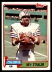 1981 Topps #405  Ken Stabler  Front Thumbnail