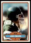 1980 Topps #47  Joe Fields  Front Thumbnail