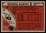 1980 Topps #55  George Martin  Back Thumbnail