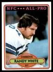 1980 Topps #70  Randy White  Front Thumbnail