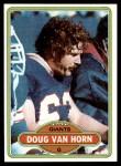 1980 Topps #114  Doug Van Horn  Front Thumbnail