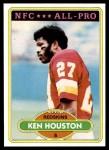 1980 Topps #145  Ken Houston  Front Thumbnail