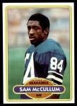 1980 Topps #147  Sam McCullum  Front Thumbnail