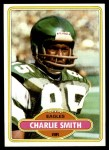 1980 Topps #154  Charlie Smith  Front Thumbnail