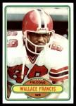 1980 Topps #258  Wallace Francis  Front Thumbnail