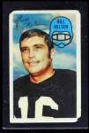 1970 Kellogg's #4  Bill Nelsen  Front Thumbnail