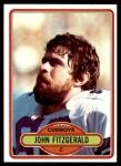 1980 Topps #433  John Fitzgerald  Front Thumbnail