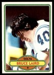 1980 Topps #447  Bruce Laird  Front Thumbnail