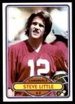 1980 Topps #508  Steve Little  Front Thumbnail