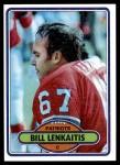 1980 Topps #516  Bill Lenkaitis  Front Thumbnail
