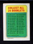 1970 Topps Booklets #16  Denis Menke  Back Thumbnail