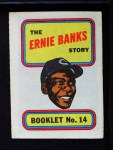 1970 Topps Booklets #14  Ernie Banks  Front Thumbnail