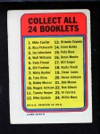 1970 Topps Booklets #5  Vada Pinson      Back Thumbnail