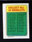 1970 Topps Booklets #3  Jay Johnstone  Back Thumbnail