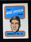1970 Topps Booklets #12  Mike Epstein      Front Thumbnail