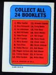 1970 Topps Booklets #15  Pete Rose  Back Thumbnail