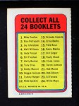 1970 Topps Booklets #14  Ernie Banks  Back Thumbnail