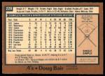 1978 O-Pee-Chee #229  Doug Bair  Back Thumbnail