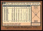 1978 O-Pee-Chee #64  Aurelio Rodriguez  Back Thumbnail
