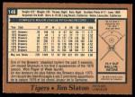 1978 O-Pee-Chee #146  Jim Slaton   Back Thumbnail