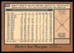 1978 O-Pee-Chee #160  Joe Morgan  Back Thumbnail