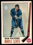 1969 O-Pee-Chee #53  Bob Pulford  Front Thumbnail