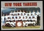 1970 Topps #399   Yankees Team Front Thumbnail