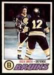 1977 O-Pee-Chee #104  Rick Smith  Front Thumbnail