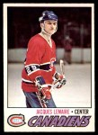 1977 O-Pee-Chee #254  Jacques Lemaire  Front Thumbnail