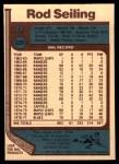 1977 O-Pee-Chee #226  Rod Seiling  Back Thumbnail