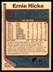 1977 O-Pee-Chee #132  Ernie Hicke  Back Thumbnail