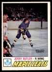 1977 O-Pee-Chee #349  Jerry Butler  Front Thumbnail