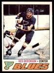 1977 O-Pee-Chee #107  Red Berenson  Front Thumbnail