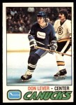1977 O-Pee-Chee #111  Don Lever  Front Thumbnail