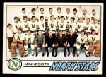 1977 O-Pee-Chee #79   North Stars Team Front Thumbnail