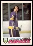 1977 O-Pee-Chee #289  Larry Brown  Front Thumbnail