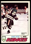 1977 O-Pee-Chee #132  Ernie Hicke  Front Thumbnail