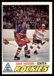 1977 O-Pee-Chee #343  Dave Hudson  Front Thumbnail