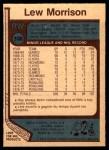 1977 O-Pee-Chee #300  Lew Morrison  Back Thumbnail