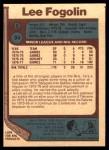 1977 O-Pee-Chee #94  Lee Fogolin  Back Thumbnail