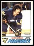 1977 O-Pee-Chee #9  Brian Spencer  Front Thumbnail