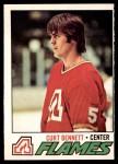 1977 O-Pee-Chee #97  Curt Bennett  Front Thumbnail