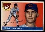 1955 Topps #52  Bill Tremel  Front Thumbnail