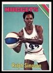 1975 Topps #240  Ralph Sampson  Front Thumbnail
