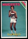 1975 Topps #318  Dave Robisch  Front Thumbnail