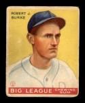 1933 Goudey #71  Robert Burke  Front Thumbnail