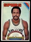 1975 Topps #263  Donnie Freeman  Front Thumbnail