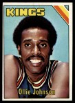 1975 Topps #51  Ollie Johnson  Front Thumbnail