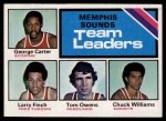 1975 Topps #281   -  George Carter / Larry Finch / Tom Owens / Chuck Williams Sounds Leaders Front Thumbnail